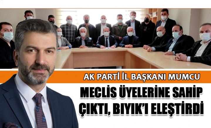 "AK Parti İl Başkanı Mumcu: ""Yomra'da Yaşananlar, Bilgim Dahilindedir!"""