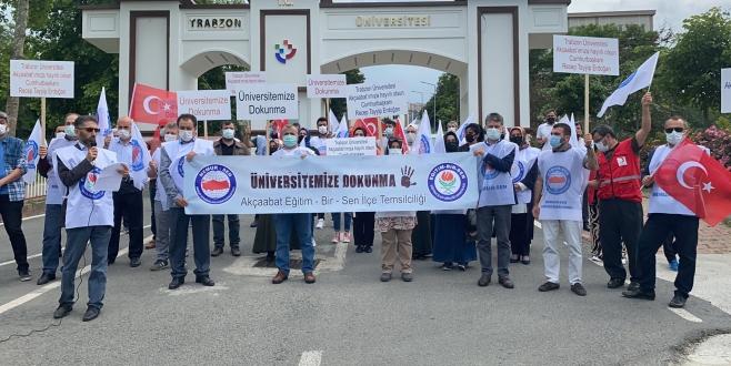 Eğitim Bir Sen'den Trabzon Üniversitesi'nin taşınacağı iddialarına tepki!