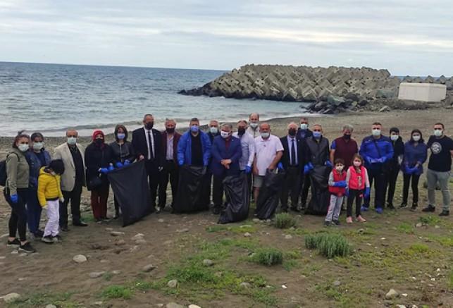 İYİ Parti Trabzon Teşkilatı, Çevrenin Korunması Çağrısında Bulundu