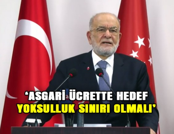 """Karamollaoğlu: """"Asgari Ücrette Hedef, Yoksulluk Sınırı Olmalı"""""""