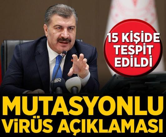 Mutasyonlu Virüs Türkiye'ye Giriş Yapan 15 Kişide Tespit Edildi !