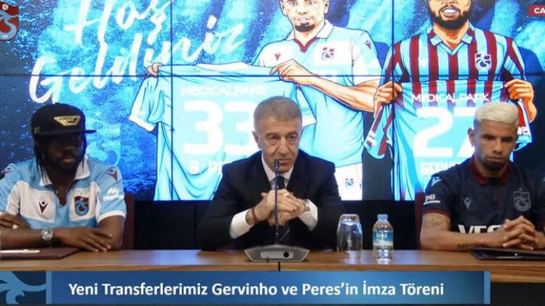 Peres ve Gervinho İçin İmza Töreni Düzenlendi !