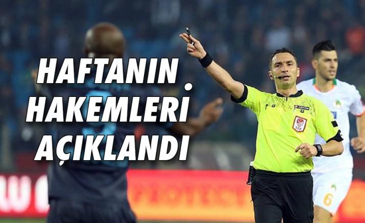 Süper Ligde 40. Haftanın Hakemleri Açıklandı