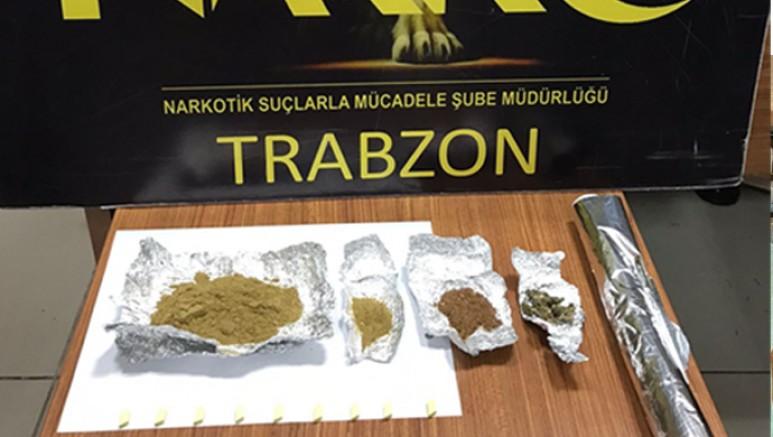 Trabzon'da Uyuşturucu Operasyonu: 1 Gözaltı