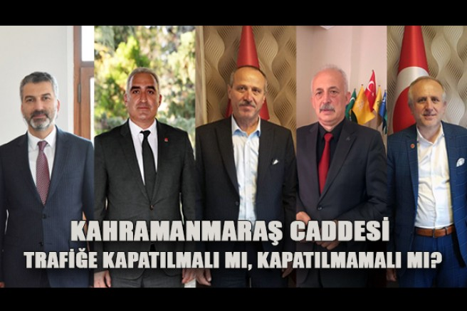 Trabzon Siyaseti, Maraş Caddesi Hakkında Ne Düşünüyor?