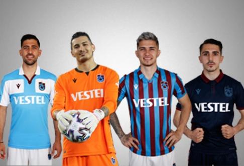 Trabzonspor'da Futbolcular Yeni Sezon Formalarını Tanıttı