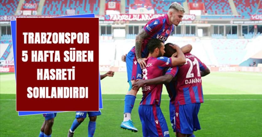 Trabzonspor, Karagümrük Karşısında Galibiyeti Hatırladı: 2-0