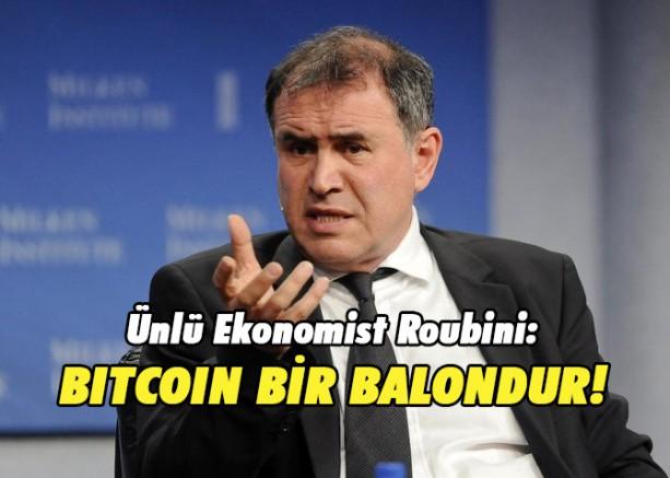 """Ünlü Ekonomist Roubini: """"Bitcoin Bir Ödeme Aracı Değildir!"""""""