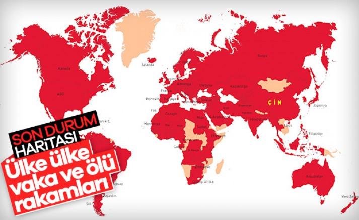 Vaka Sayısında Çin'i ve İran'ı Geride Bıraktık
