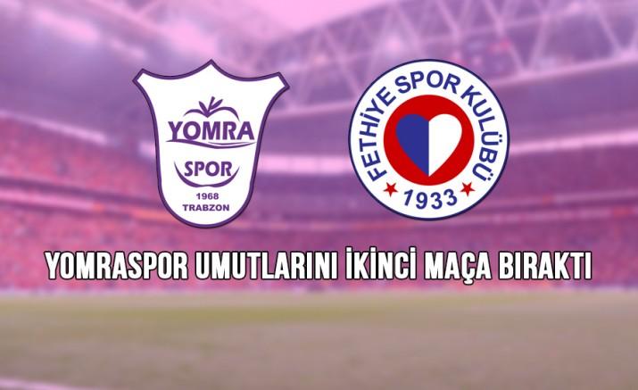 Yomraspor, Play-Off'lara İyi Başlayamadı: 1-2